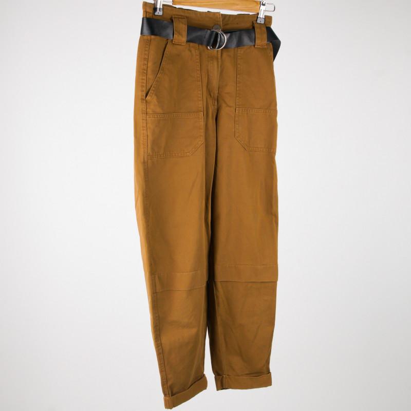 Pantalon large 36 BERSHKA