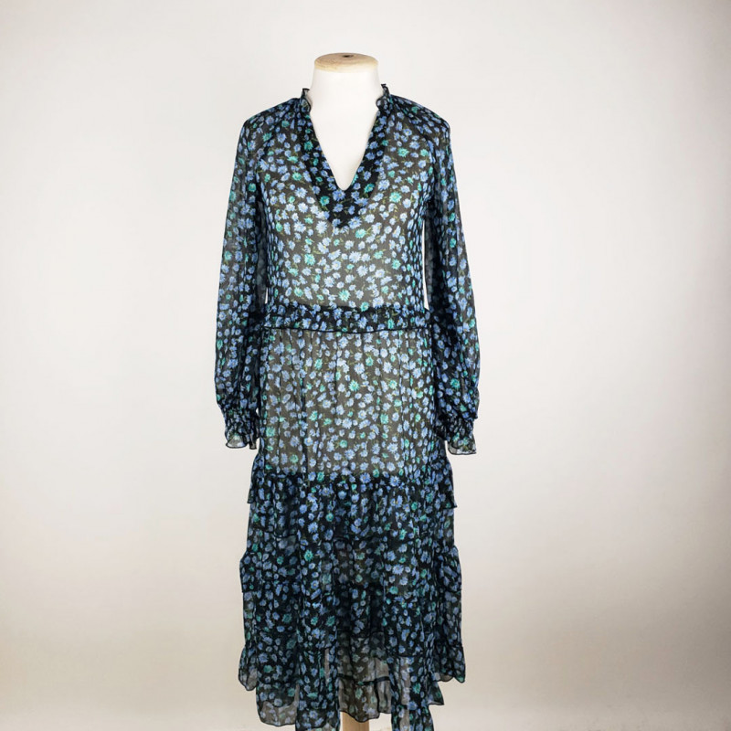 Robe longue M STRADIVARIUS