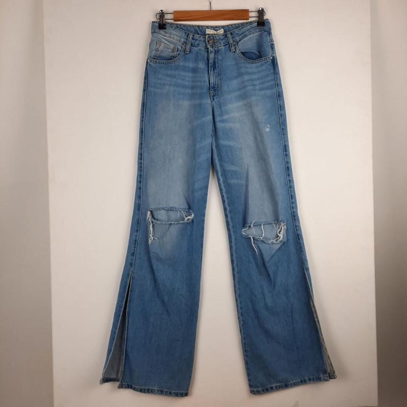 Pantalon large 36 STRADIVARIUS