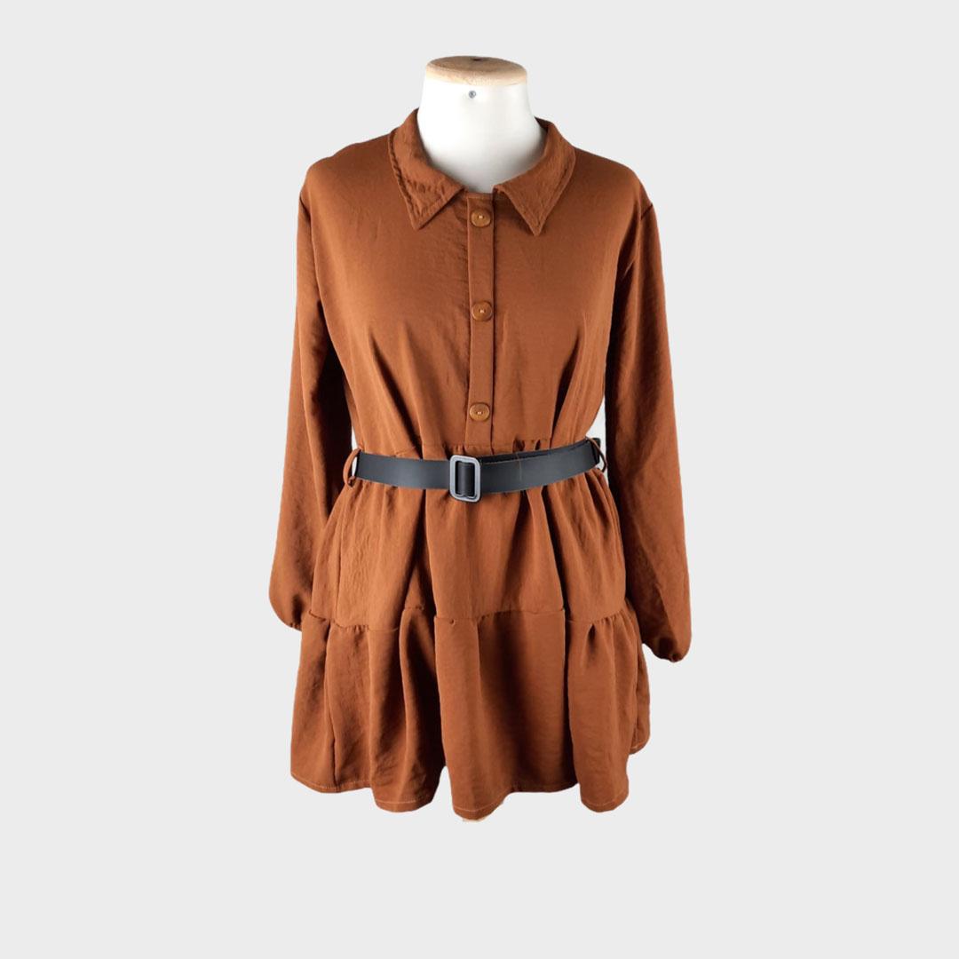 Robe chemise M (SANS MARQUE)