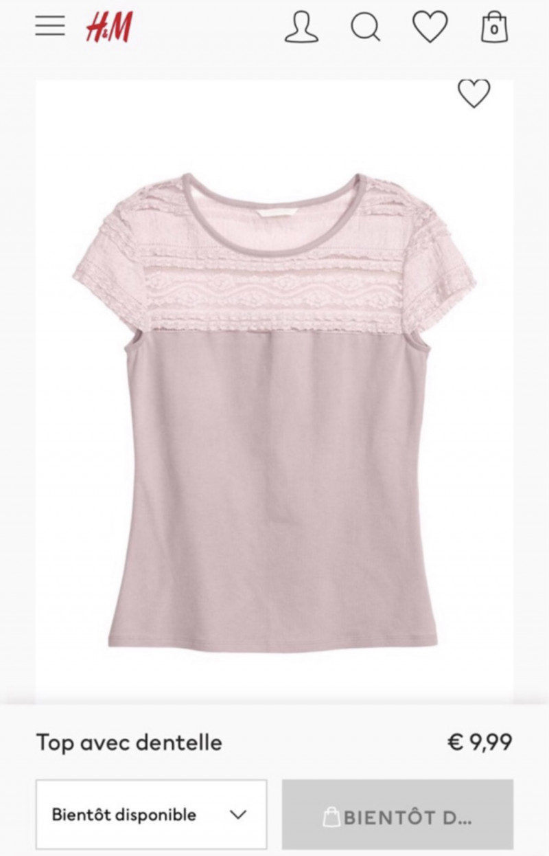 T-shirt S H&M