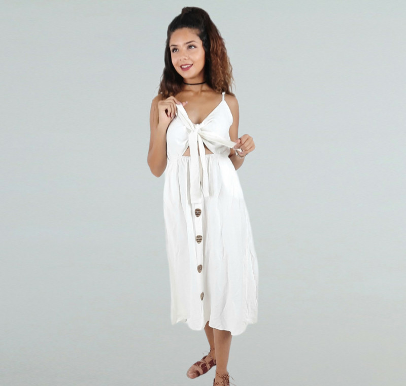 Robe longue REYON