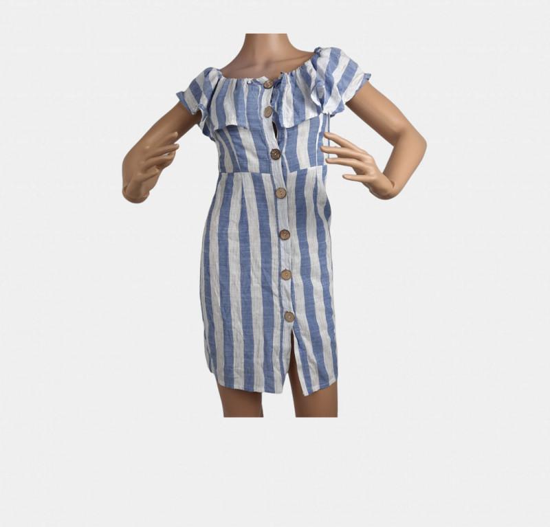 Robe chemise L (SANS MARQUE)
