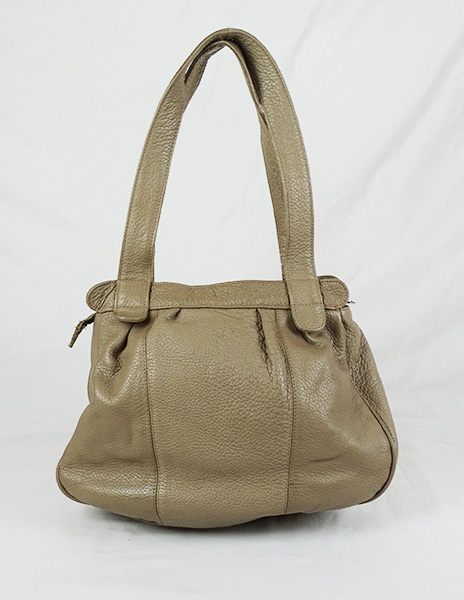 Sac à main Beige CROCODILE