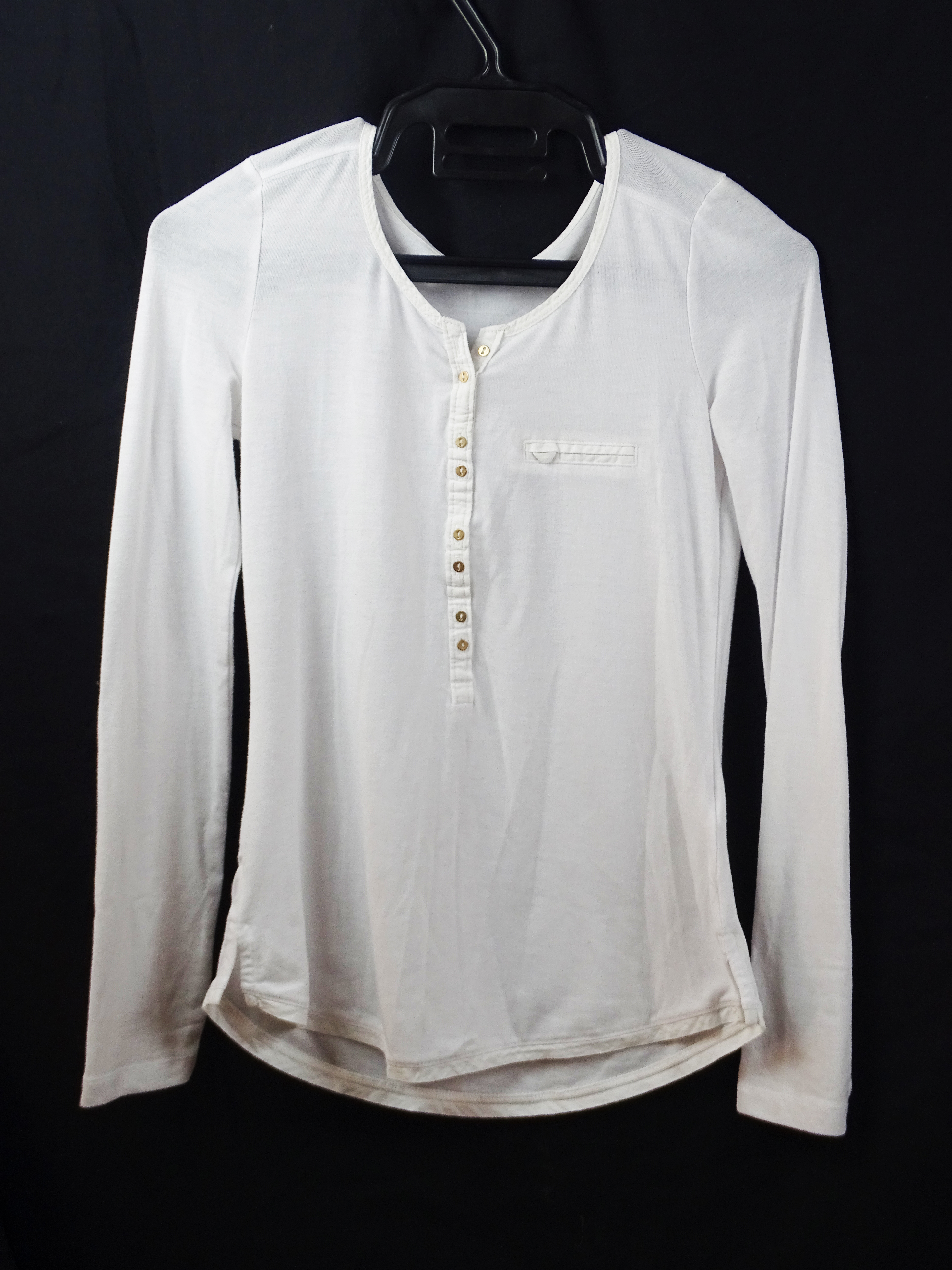 T-shirt manches longue XS BERSHKA
