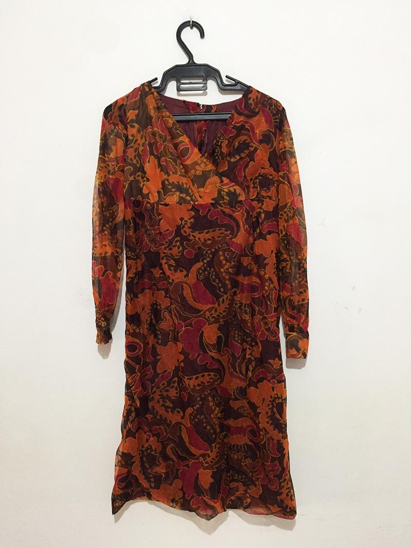 Robe longue L (SANS MARQUE)
