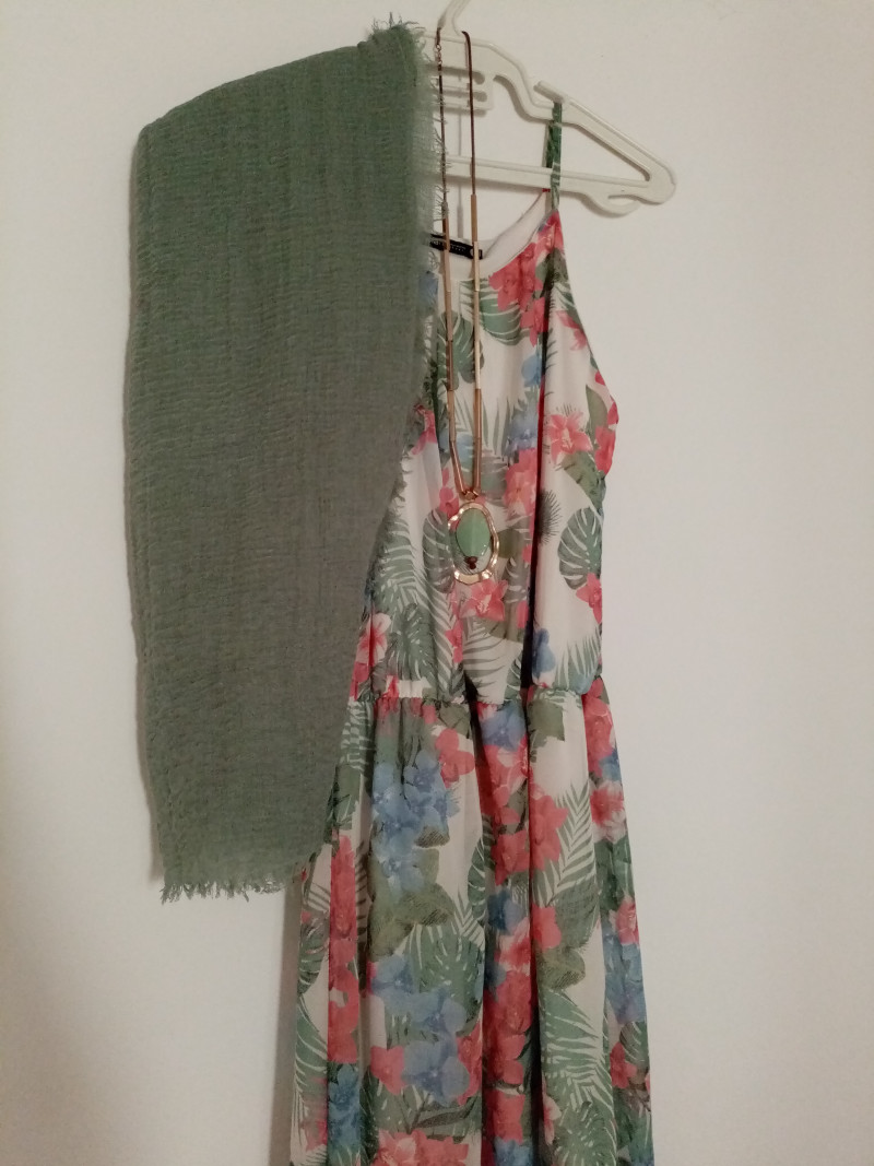 Robe longue 38 SHANA