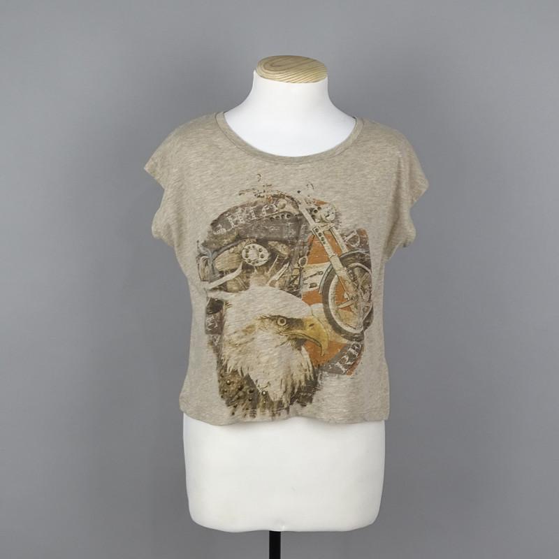 T-shirt S BERSHKA