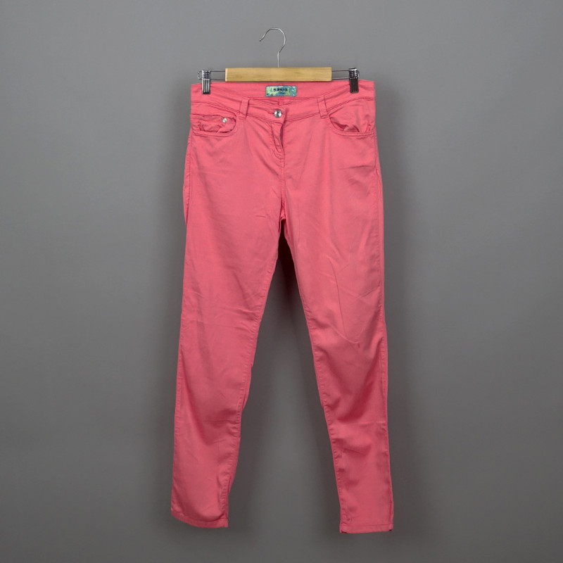Pantalon slim 38 SASIO