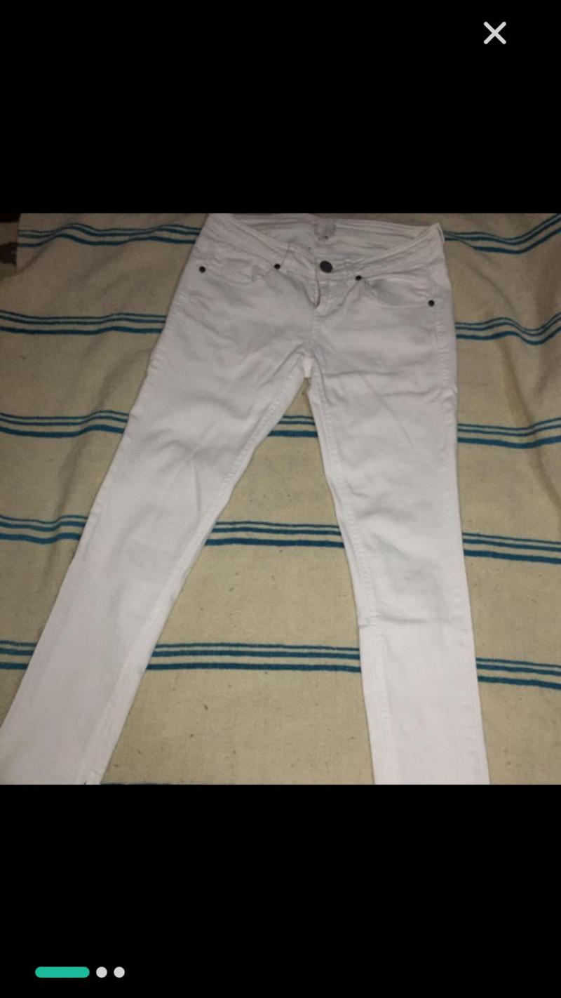Pantalon slim 38 BERSHKA