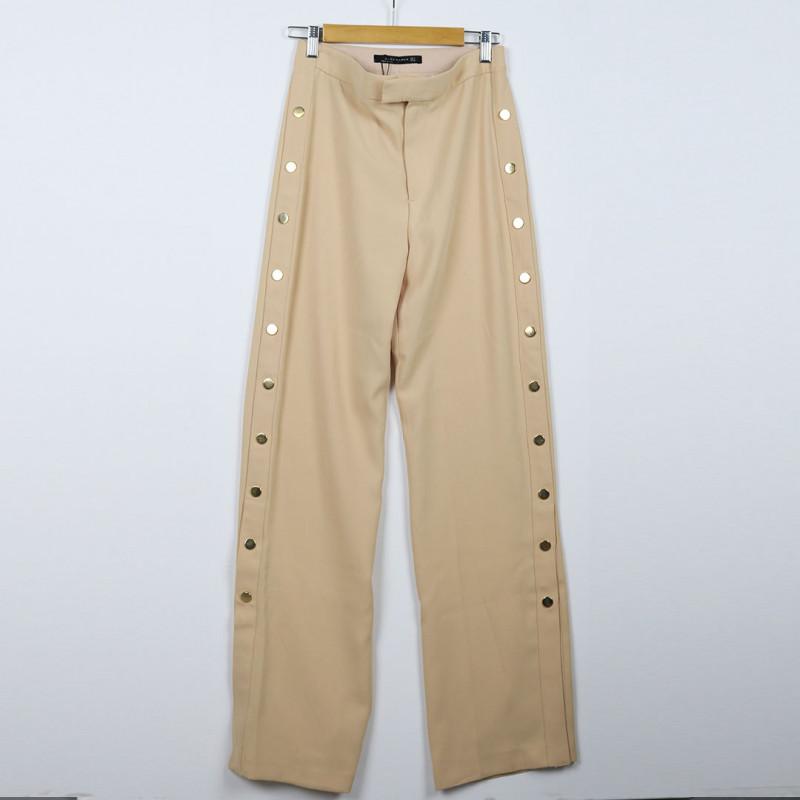 Pantalon large S ZARA
